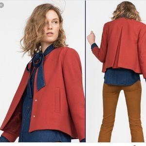 Zara S Jacket Sienna , retro look, MOD
